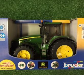 Tracteur JOHN DEERE 7930 avec roues jumelées