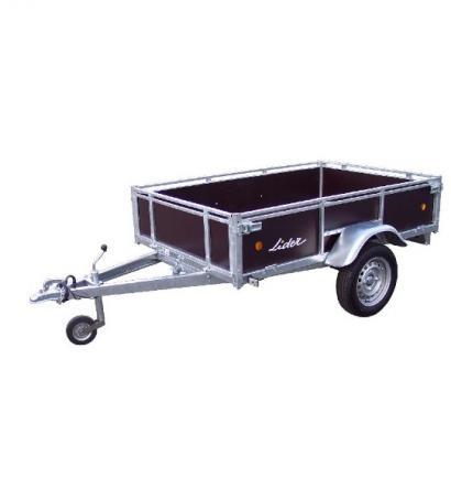 Remorque LIDER bois 1 essieu  750 kg ou 500 kg