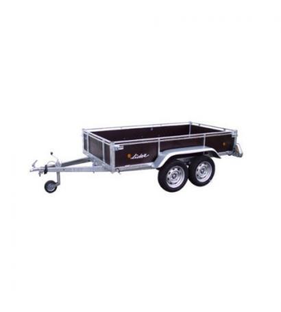 Remorque Lider 34450 bois 2 essieux  750kg ou 500kg